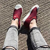 Кроссовки-слипоны женские Adidas Superstar Slip-on Bordo