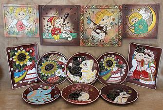 Декоративные (пищевые) тарелки/пано
