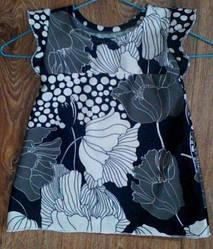 Платье детское с цветами