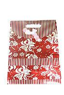 Пакеты из картона 24х32х10см Большой Красный