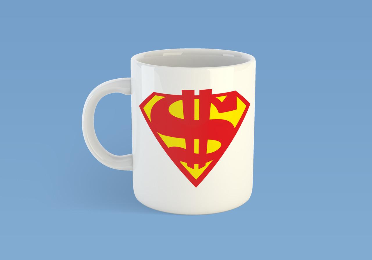 """Чашка """"Супер доллар"""""""