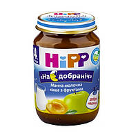 Молочная каша HiPP с Яблоками и грушей, 190 г