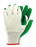Перчатки защитные с покрытием и резинкой для мостильщиков, Rejs Recogreen