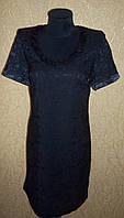 Симпатичное черное женское платье