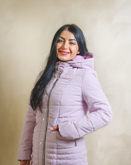 Демисезонная стильная куртка 44-58 размер