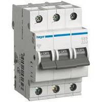 """Трехфазный автоматический выключатель 16A Hager MC316A тип """"С"""" (универсальный)"""