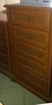 Комод Людовик 5Ш/6 орех (ширина 60см)