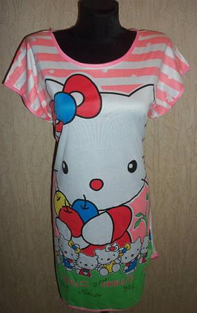 Ночная рубашка женская с рисунком