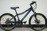 Велосипед на алюминиевой раме Benetti Forte 24 DD 2017