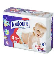 Подгузники Toujours Maxi 4 (7 – 18 кг) - 50 шт