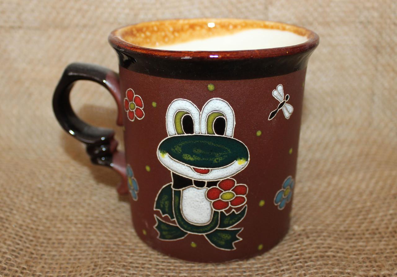 Чашка керамическая «Лягушка»