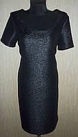 Элегантное черное женское платье