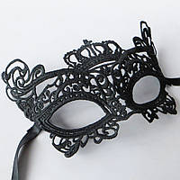 Сексуальная кружевная маска под пеньюар