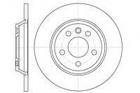 Гальмівний диск задній суцільний (294x13.5mm) VW Transporter T4 90-03 6659.00 ROADHOUSE