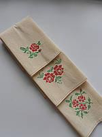 Кухонные полотенца с розочками