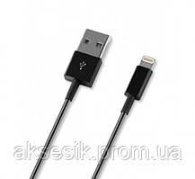 Кабель USB - Apple 8 pin Deppa, (1.2м), цвет: чёрный