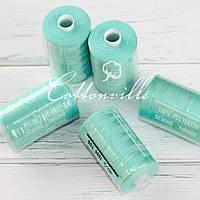Нитки швейные 40s/2 прочные (1000Y м) цвет мята