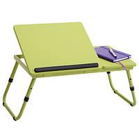 """Столик для ноутбука или столик для завтрака""""J-5105"""" Brad (лайм), фото 1"""