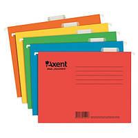 1310-22-А Файл підвісний картонний, А4, синій