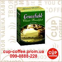 Чай Greenfield Classic Breakfast 100гр.