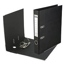1711-01C-А Папка-реєстратор двост,Prestige,РР 5cм, зіб,чорн, фото 2