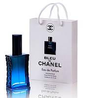 Мини парфюм мужской Chanel Bleu de Chanel в подарочной упаковке 50 ml