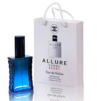 Мини парфюм мужской Chanel Allure Homme Sport в подарочной упаковке 50 ml