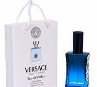 Мини парфюм мужской Versace Versace pour Homme в подарочной упаковке 50 ml