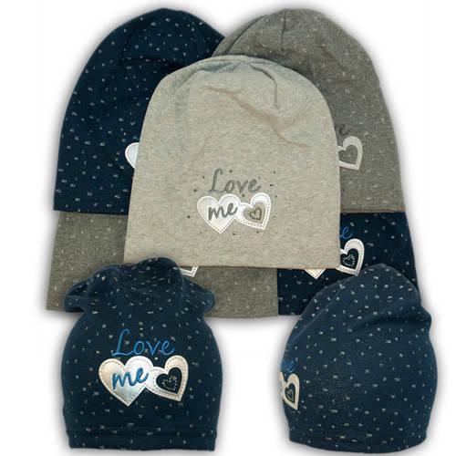 Трикотажные шапки с вышивкой, 724