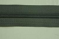 Молния лента (метражка)  №7 (10), цвет №384 серый