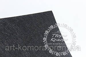 Фетр черный, 20 * 30 см, толщина 1 мм.