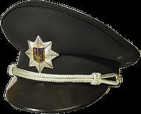 """Фуражка черного цвета """"Полиция"""""""