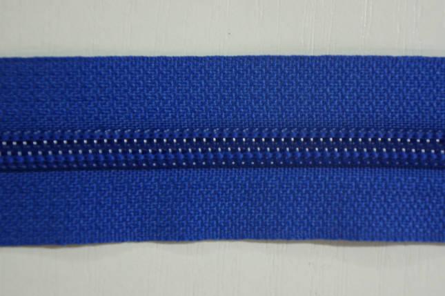 Молния лента (метражка)  №7 (10), цвет №918 синий, фото 2