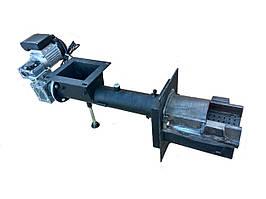 Самоочищающаяся горелка жёлобного типа  12-25 кВт тип-2 Шнеки для котла Самоочищающиеся податчик