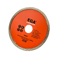 Диск алмзний суцільний 115х22,2мм  PREMIUM  EGA