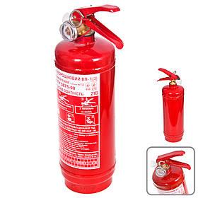 Огнетушитель порошковый Запорожье ВП-1(3) 1Л с манометром