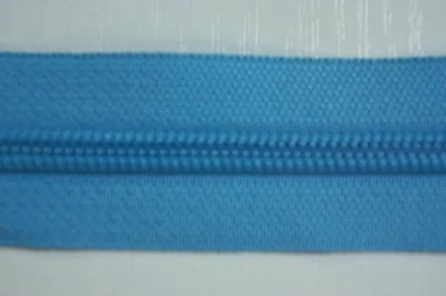 Молния лента (метражка)  №7 (10), цвет №833 бирюзовый, фото 2
