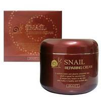 Восстанавливающий крем с экстрактом улитки Jigott Snail repairing cream