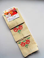 Кухонные полотенца с букетом роз