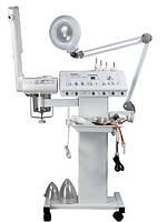 Комбайн 9 в 1, вапоризатор,лампа лупа,дарсонваль,браш,вакуум,спрей,УЗ фонофорез,коагулятор, уход за грудью