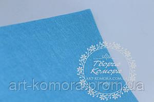 Фетр голубой, 20 * 30 см, толщина 1 мм.