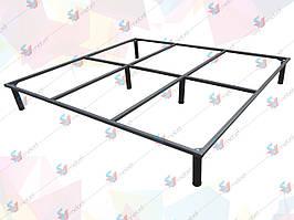Рамка кровати двуспальная с ножками 1900*1400 мм