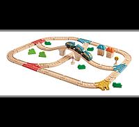 Железная дорога Plan Тoys