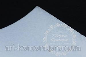 Фетр белый, 20 * 30 см, толщина 1 мм.