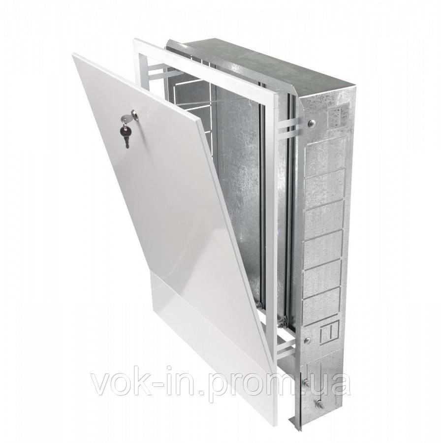 Шкаф встраиваемый для коллекторов на 10-12 контуров