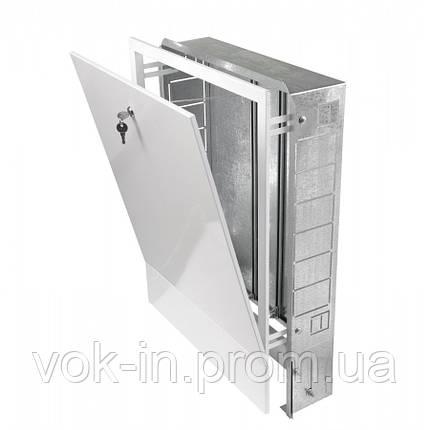 Шкаф встраиваемый для коллекторов на 10-12 контуров, фото 2