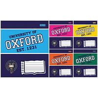 Тетрадь в клетку 12 листов А5, 1 Вересня Oxford colore 677892