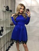 """Платье """"Скарлет"""", синее"""