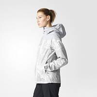 Женская ветровка с капюшоном adidas All Outdoor Printed Wandertag Jack B47153 - 2017
