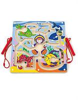 """Лабиринт Viga Toys """"Подводный мир"""", каталка, детская головоломка, деревянные игрушки"""
